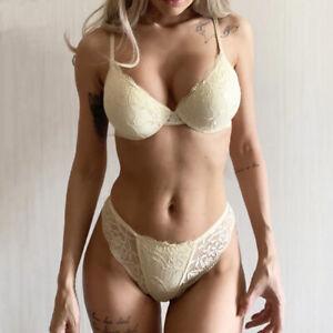 Quality Women Bras Set Playful Lace Brassiere Push Up Sexy Lingerie Panties ABC