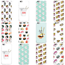 DYEFOR FAST FOOD COLLECTION HARD CASE COVER FOR APPLE IPHONE MOBILE PHONES