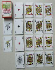 Jeu de 54 cartes à jouer Mister Gadget / Set of 54 Cards / Dos Billet 100 euros