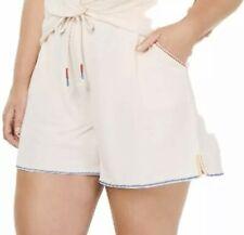 Jenni Women's Plus Size French Terry Pajama Sleep Shorts, Sugar Berry, XL