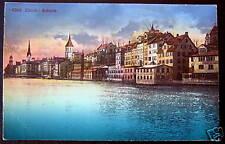 Switzerland~1900's ZURICH SCHIPFE ~ Abend Stimmung