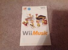 (NO GAME) Wii Music Instruction booklet Manual
