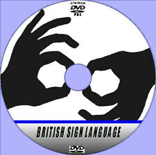HOW TO SIGN LANGUAGE LESSONS DVD NEW COMPREHENSIVE BUT SIMPLE TO LEARN BSL GUIDE