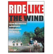 RIDE LIKE THE WIND DVD - Motorcycle Adventures Motorbike by Duke New - SAVE 50%