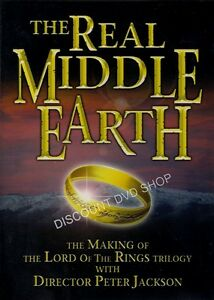 THE REAL MIDDLE EARTH. NEW CELLOPHANE WRAPPED. DVD