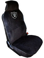 Oakland Raiders Embroidered Seat Cover (New) Car Auto NFL Black Truck SUV CDG