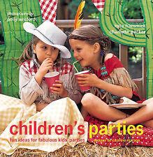 """VERY GOOD"" Children's Parties, Packer, Charlotte, Book"