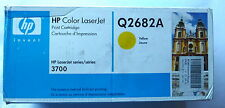 HP Q2682A YELLOW TONER for HP3700 Series GENUINE -SEALED