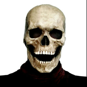 Creepy Halloween Mask Smiling Demons Horror Face Masks The Evil Cosplay Props