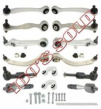 AUDI ALLROAD CONTROL ARM ARMS Ball Joint Joints Tie Rod Rods SUSPENSION KIT 15