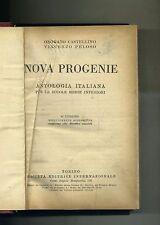 Castellino-Peloso # NOVA PROGENIE-ANTOLOGIA ITALIANA # SEI 1940
