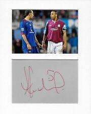 More details for anton ferdinand west ham genuine authentic autograph signature and photo aftal