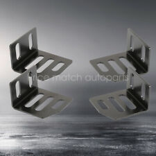 UNIVERSAL SUPER LOW DOWN SIDE MOUNT BRACKETS For NRG RECARO SPARCO BRIDE SEAT