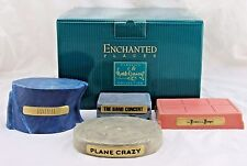 WDCC Enchanted Places Mickey's 70th Birthday Base Set of 4 Pieces in Box