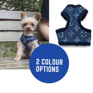 DOG/PUPPY 'Designer' HARNESS & LEAD SET  XS-XL small breed