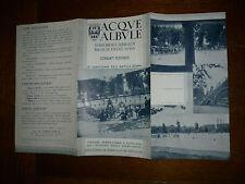 ACQUE ALBULE stabilimenti termali in Bagni di Tivoli 1939 Fascismo pubblicita'
