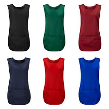More details for tabard / tabbard apron suitable 4 catering cleaning, work wear, overall uniform