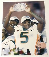 ANDRE JOHNSON MIAMI HURRICANES TEXANS 11x14 PHOTO