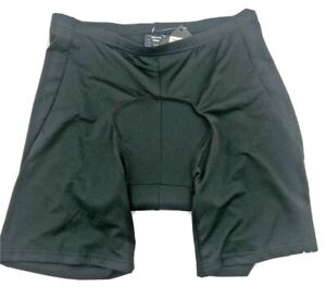 Sports Gear - Black Cycle Padded Pants L Breathable Mesh Knit - FAST SHIPPING