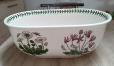 DECORATIVE CERAMIC BOWL WITH  HERB PATTERN