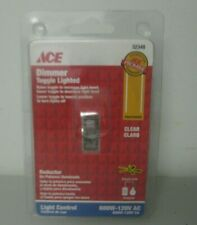 Ace Toggle 3 Way Light Control Dimmer Clear 600W-120V  ACE6441LTC-K