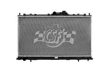 Radiator-1 Row Plastic Tank Aluminum Core CSF 3382 fits 04-10 Mitsubishi Galant