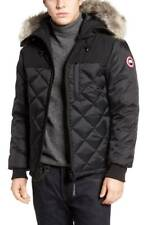NEW $2350 CANADA GOOSE Men Black DOWN HOODED PARKA JACKET WINTER COAT Size S