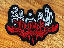 DETHKLOK Embroidered Iron On Death Metal Patch New