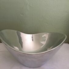 "NAMBE METAL ALLOY 8"" BUTTERFLY BOWL - #569 - NICE CONDITION -  RICHARD THOMAS"