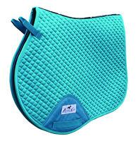 Professional's Choice VenTech Jump English Saddle Pad EP510 Turquoise