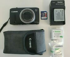 "Canon PowerShot SX260 HS GPS Digital Camera 12.1MP. 20x 3"" LCD, Custom Bundle"
