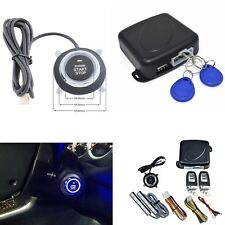 Alarm System Keyless Entry Engine Start Push Button Remote Starter 8PCS NEW