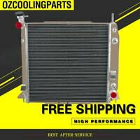 2Row Radiator For Holden RA Rodeo RC Colorado Isuzu D-MAX V6 3.6L Aluminum AT/MT