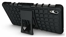 Sony Xperia Z4 Case JKase DIABLO Tough Rugged Dual Layer Cover with Kick Stand