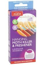 Acana Hanging Moth Killer and Fresheners with Lavender Fragrance-4 Unit