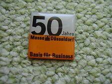 Pin Düsseldorf 50 Jahre Messegelände Westfalen Deutschland Germany