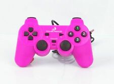 USB 2.0 Wired Game Controller Gamepad Joypad for Laptop PC Pink