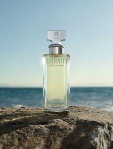 Eternity for Women Eau de Parfum Spray Calvin Klein 1.6 oz Sealed VERIFIED CODE
