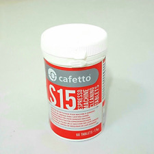 NEW Cafetto S15 Tablets Jar 60 x 1.5g for coffee machines