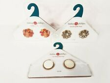 Lindsay Phillips Interchangeable Snaps Shoe Charms Lot of 3
