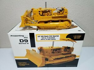 Caterpillar D9 Series D Tractor Cable Blade First Gear 1:25 Scale #49-0123 New!