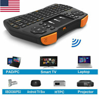 NEW 2.4G Wireless Keyboard Touchpad Mouse Combo For Android PC Smart TV Laptop