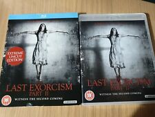 THE LAST EXORCISM PART 2 BLU RAY. ELI ROTH, EXTREME UNCUT VERSION. VGC REGION B