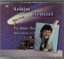 ACHIM MENTZEL - IN DIESER NACHT & KLEINE HERZEN IM SCHNEE / MONOPOL RECORDS 2002