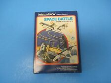 Intellivision by Mattel Space Battle Video Cartridge w/box & instructions, 1979