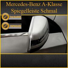 MERCEDES A-KLASSE W176 - CHROM ZIERLEISTE CHROMLEISTE SPIEGELLEISTE OBEN SCHMAL