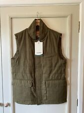 BNWT Schoffel Mens Sedbergh Sandringham Tweed Waistcoat Gilet Size Large