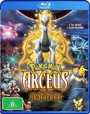 Pokemon - Arceus & The Jewel Of Life : Movie 12 (Blu-ray, 2011) Region B