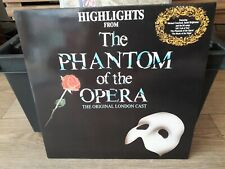 The Phantom Of The Opera - Sountrack - LP & Booklet Germany 1987