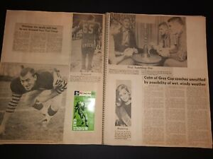 Hamilton Tiger-Cats 1965 Grey Cup Scrapbook
